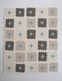 Learn to Crochet a Granny Square Blanket Kit | The Purl Bee