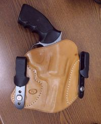 IWB Revolver Holster by Tucker GunLeather.  IWB Holster is best choice inside the waistband for your revolver.It is fully tuckable and the Kydex Clips are easily interchangeable for your convenience.For more details,visit:  http://www.tuckergunleather...