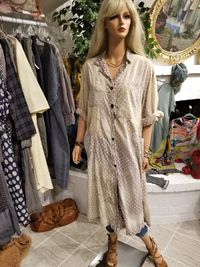 French Cotton Hudson Smock Annetha Dot Dress by Magnolia Pearl, $300.00, https://kollekcio.com