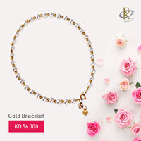 Looking for the perfect gold bracelet for you, here is the end for search.
