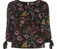 Dorothy Perkins Womens Fever London Athena Floral Top- Fl Multi Soft viscose, easy to wear top. Loose fit top, based on Avebury and Pinga Top. ¾ length sleeves. 100% Viscose. Machine washable. http://www.comparestoreprices.co.uk/womens-clothes/doro...