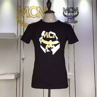 MCM Logo Style 04 Short Sleeves T-Shirt In Black