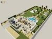 Luxurious 3D Virtual Floor Plan Design with landscape pool view by Architectural Rendering Companies, Bern - UK01.jpg
