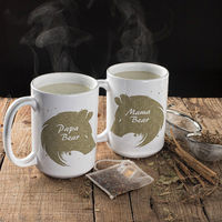 Mama Bear, Papa Bear, Coffee Mugs, Gift For Her, Gift For Him, Fathers Day, Mothers Day, Birthday, Christmas Gift $16.73