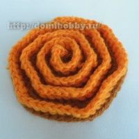 Crocheting a volumetric spiral motif on a hexagon. �˜€CQ #crochet