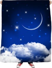ROFB Sleep Under The Stars Fleece Blanket $65.00
