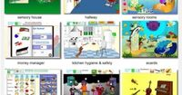 SensoryWorld website - WOW. A sensory wonderland but also great to learn valuable skills for daily living (hygiene, nutrition, money management etc)! Do not miss this site! - re-posted by #PediaStaff. Visit http://ht.ly/63sNt for all our pediatric...