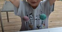 How to Make-Your-Own Bouncy Balls by cometogetherkids: The kids can easily make these themselves with Elmer's white glue, food coloring, Borax powder, cornstarch and warm water! #DIY #Kids #Bouncy Balls