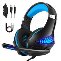 Beexcellent GM-5 Wired Shocking Bass Gaming Headphone with Microphone Headset for PS3 PS4 Xbox ONE PC