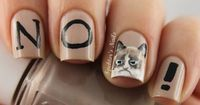 Brilliant and Bizarre Nail Art Inspired by Internet Memes