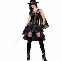 Bandita Adult Costume XSm 0-2 https://costumecauldron.com