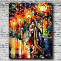 Hand-painted Oil Painting First Date On Canvas