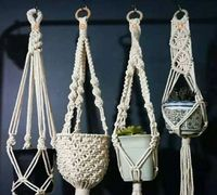 Macramé Plant Hanger Hand Crafted Various styles $0