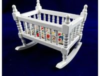 Town Square Miniatures Dolls House Nursery Furniture Rocking Cradle Cot Wh384 No description (Barcode EAN = 0717425204103). http://www.comparestoreprices.co.uk//town-square-miniatures-dolls-house-nursery-furniture-rocking-cradle-cot-wh384.asp