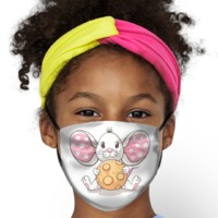 A Mouse and a Cookie Kids Face Mask $14.95