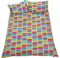 ColourMatch Brights Twin Pack Bedding Set - With this bright duvet set. you get to choose between 2 stylish duvet covers. This ColourMatch Brights Twin Pack includes 2 duvet covers and 4 pillowcases. Set includes 2 duvet covers and 4 pillowcase http://www...
