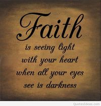 Words of wisdom with faith quote