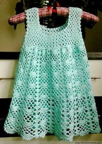 Crochet girl dress �™�LCK-MRS�™� with diagrams