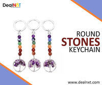 Round Stones Keychain  Keep your keys safe with this Round Stones Keychain, held together tightly. This keychain is not only excellent in its funtionallity, But also offers a classic decorative look.  https://www.dealnxt.com/product/round-stones-keycha...