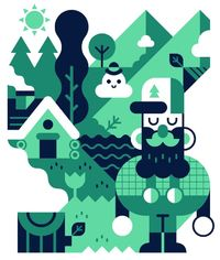 Dribbble - woods.png by Hey Hey Momo!