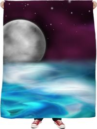 ROFB Fantasy in Space Fleece Blanket $65.00