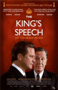 The King's Speech (2010) deserved the win. What a great movie.