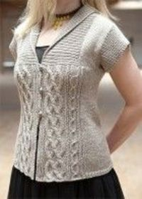 Elisbeth Cardi by Bonne Marie Burns - Chic Knits. Discussion on LiveInternet - Russian Service Online Diaries
