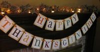 From family gatherings to weddings to baby showers - these banners from etsy seller #inspirationalbanners are fun for any holiday or occasion