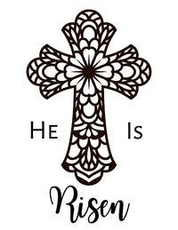 Printable Coloring Page for Easter $1.50