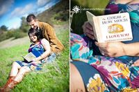 cute prop - maternity session