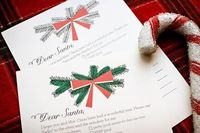 Editor's Note: A few years back I fell in love with the awesome Dear Santa note sets designed by my super awesome partner in design-loving crime, Erika. Erika's