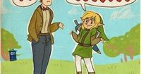 The Doctor takes a trip to Hyrule. Link has clearly found more heart containers...