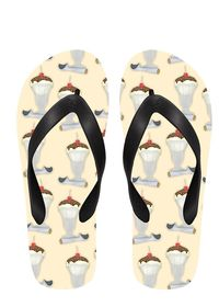 Ice Cream Sundaes Flip Flops $24.00
