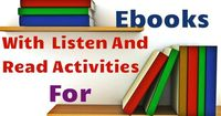 Free Nonfiction Read-Along Books! You will also find titles at low and high reading levels while providing the same content. Great collection of titles for your listening centers and whole class reading activities!