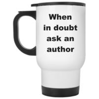 Travel Mug Gift For Author ~ Funny Author Travel Mug Gift ~ Author Birthday Gift ~ Funny Travel Mug Gift For Writer $25.95