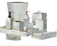 Marbleous Bath Accessories by Mike + Ally $88.00