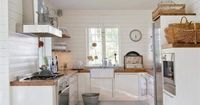 #thingsilove: all-white kitchens, oriental rugs, basket collections.