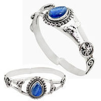Check out the Kyanite jewelry collection for the very best in unique or custom, handmade pieces at GEMEXI. Shop Kyanite ring, earrings, necklace, pendants, Bracelet. At the wholesale price, Now for Worldwide free shipping.