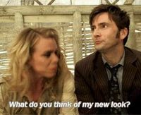 *gif* I'm pinning this again because look at David's face when he looks at what Billie is wearing. It's just so adorable the relationship they have