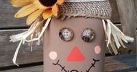 This quart size mason jar has been transformed into an adorable scarecrow!! It is completely handpainted and crafted. This is such a cute addition to anyones Fall decor. This product is made to order to please allow 10 to 14 business days to process and s...