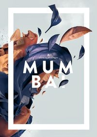 Mumbai by Fabian De Lange, via Behance