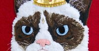 His Grumpiness - The Grumpy Cat by entala , via Behance