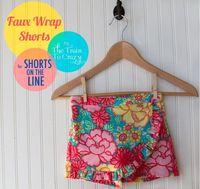 today i'm excited to introduce Andrea from The Train to Crazy as part of the shorts on the line sewalong! Andrea has also recently launched Go To Patterns, wher