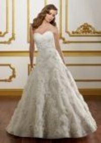this is MY wedding dress!!! if you don't want to see it before the wedding, DON'T look!!! BRIDAL By Mori Lee Style 1801