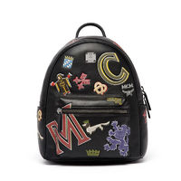 MCM Small Stark Firmament Backpack In Black