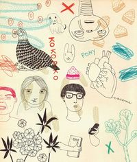 Collaboration The Balde magazine by Leire Salaberria, via Behance