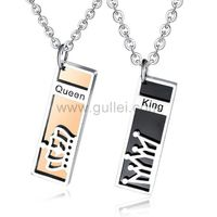 King and Queen Crown Necklaces Christmas Gift for Couple https://www.gullei.com/king-and-queen-crown-necklaces-christmas-gift-for-couple.html