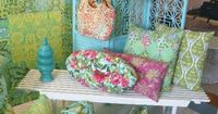 Amy Butler-- Inspires me to make some pillows and purses and totes! Some of these patterns are free to download on amybutlerdesign.com