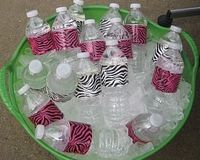 Duct tape for Party Water Bottles Finally something to use for all that cool new duct tape they have now