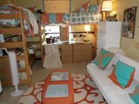 My Daughters Dorm Room, My daughter and her childhood friend dorm room of their freshman year at the University of Mississippi a.k.a Ole Miss., The space, my daughter and I along with her roommate and her mom designed for our girls so that they would feel...